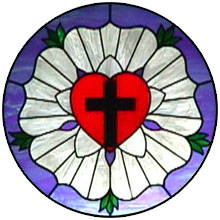 Luther's Seal Stained Glass